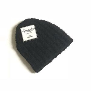NEW Soft Black Winter Beanie Cap